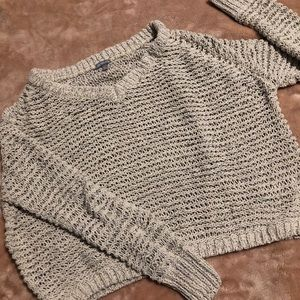 Distressed true to size sweater